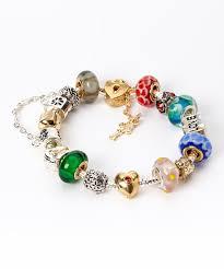 pandora jewelry sale guccinara silver u0026 gold pandora charm bracelet zulily