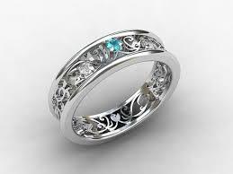 midnight blue wedding band aquamarine wedding rings wedding corners