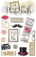 wedding scrapbook stickers paper house wedding cardmaking scrapbooking stickers ebay