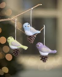 bird ornaments bird ornaments felted bird ornaments
