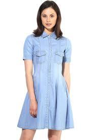 light blue color short denim dress women u0027s denim dress the vanca