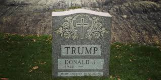 headstone maker someone erected a tombstone for donald in central park