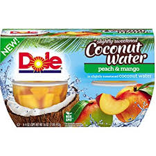 dole fruit bowls dole fruit bowls mango in coconut water 4