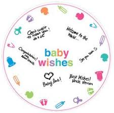 autograph plate baby autograph plate party city lucas baby shower