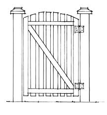 how to build a gate that doesn u0027t sag old house restoration