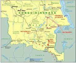 Congo Africa Map Militants Target Katanga Article Africa Confidential
