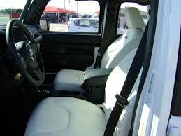 Jeep Wrangler Leather Interior Custom Built Jeeps