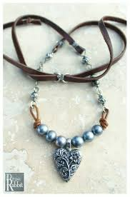 heart leather necklace images 456 best handmade leather jewelry images necklaces jpg