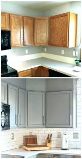 painted kitchen cabinets before and after spray paint kitchen cabinets painting kitchen cabinets not to other