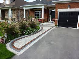 Recycled Brick Driveway Paving Roseville Pinterest Driveway by Front Entrance Landscaping Front Yard Landscaping Interlocking