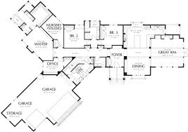 best one story floor plans auburn 6999 3 bedrooms and 2 baths the house designers