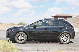 grey subaru crosstrek 2017 2018 subaru xv crosstrek mule spied testing with possible plug in