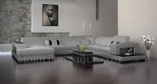 canapé cuir gris clair canapé d angle panoramique en cuir modèle mélodie