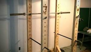 Diy Wood Squat Rack Plans by Diy Wooden Squat Rack All Things Gym