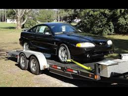 1995 Mustang Black 1995 Ford Mustang Svt Cobra In Black With Only 104 Original Miles