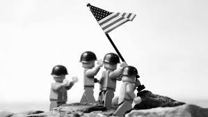 Redneck Flags Soldiers War Minimalistic Flags Iwo Jima Legos Redneck Wallpaper