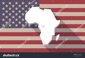 Map Of Continental United States by Illustration Long Shadow Vector Usa Flag Stock Vector 345038300