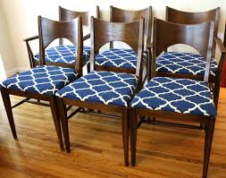 How To Upholster A Dining Room Chair Recovering A Dining Room Chair Seat Home Decorating Interior