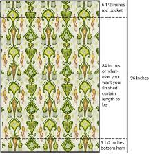 Curtain Patterns To Sew Lined Curtain Panel Tutorial Hometalk