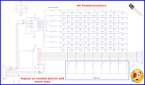 Potransistor Circuit Diagram 10 000 Inputs With Shift Registers