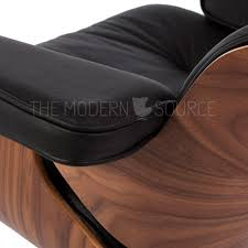 eames lounge chair u0026 ottoman reproduction the modern source