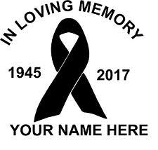 in loving memory items in loving memory ribbon ebay