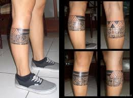 tribal on leg designs pictures