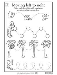kindergarten preschool reading writing worksheets watch it go