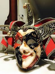 venetian jester mask venetian jester mask made from paper mache catawiki