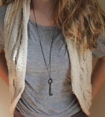 vintage key necklace images Vintage skeleton key necklace jewelry necklaces anne potter jpg