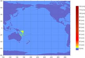 Solomon Islands Map Solomon Islands Tsunami Of January 3 2010