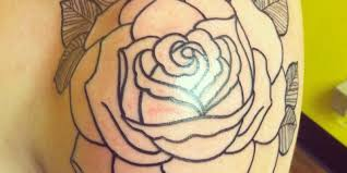 black rose tattoo on shoulder tattoo ideas center