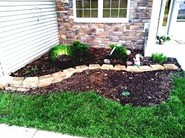 Backyard Ideas For Small Yards On A Budget Front Yard Garden Design Before Sloping Granite Boulders