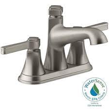 kohler georgeson 4 in centerset 2 handle water saving bathroom