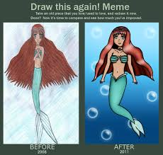 Mermaid Meme - mermaid meme by tairaxtorixyori on deviantart