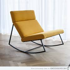 Rock With Comfort And Style  Modern Rocking Chairs Home - Design rocking chair