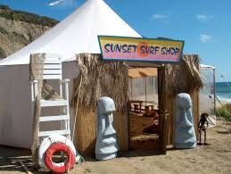 surf shack pirate and tiki theme prop rentals event magic