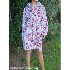 robe de chambre peluche femme de chambre maille peluche femme sur