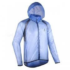 cycling jacket blue arsuxeo ultrathin windproof waterproof men s cycling jacket blue