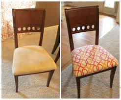 Covering Dining Room Chairs Simple Reupholster Dining Chair Home Decor And Design