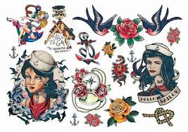 pin up temporary tattoos sheet tattoos temporary tattoos guru