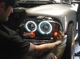 2001 dodge dakota headlight assembly halo headlights on a 2001 dodge dakota truck eyeballs