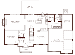 Mud Room Floor Plan The Graham S U0026g Homes Inc