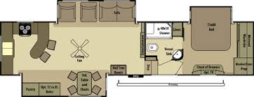 5th Wheel Camper Floor Plans Fifth Wheel Camper Floor Plans U2013 Gurus Floor