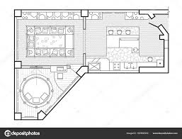 top view floor plan floor plan top view the interior design terrace the cottage is a