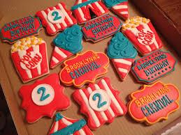 carnival themed sugar cookies designer desserts pinterest