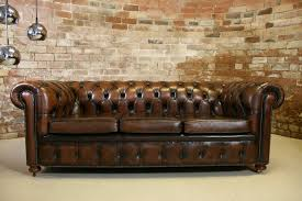 Chesterfield Sofa Bed Used Leather Chesterfield Sofa Bed Chesterfield Leather Sofa