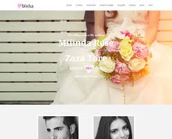 wedding planner website event wedding archives free css themes