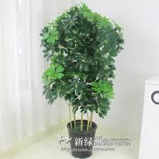 buy simulation potted bonsai tree landing plastic flowers