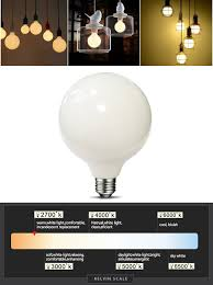mrdeng led light bulbs 60 watt replacement large g40 6w energy